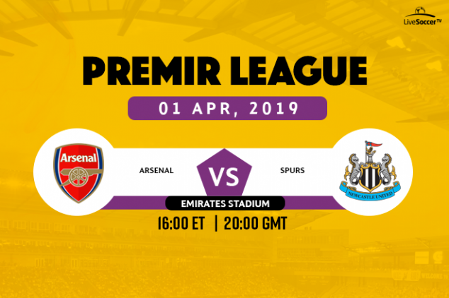 Where to watch Arsenal vs Newcastle