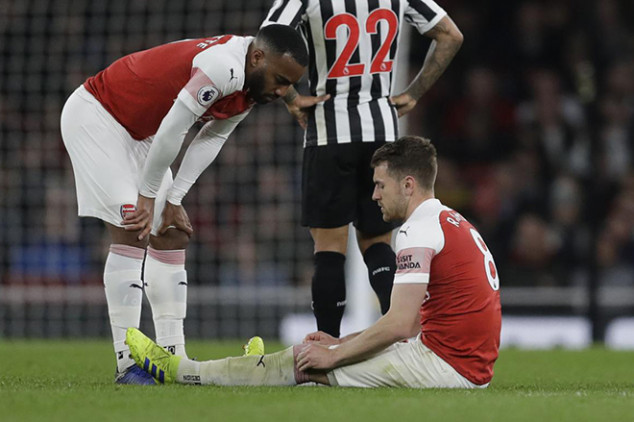 Emery offers Ramsey injury update