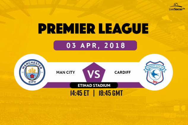 Manchester City vs Cardiff City broadcast info