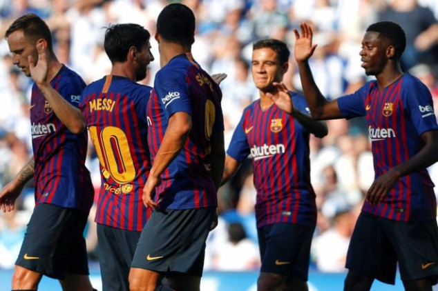 Barcelona to sell FOUR players this summer