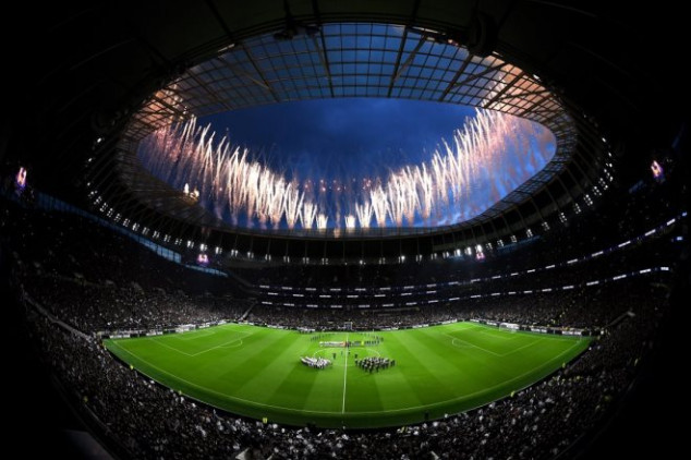 Tottenham marks debut in new stadium with win
