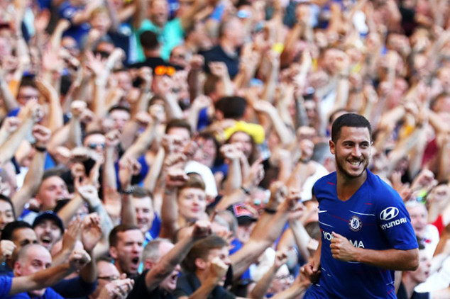 Hazard's Real Madrid move close to completion