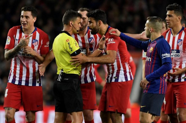 What Costa said before Barca red card revealed