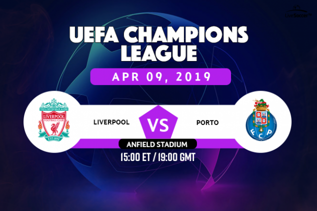 Liverpool vs Porto broadcast information