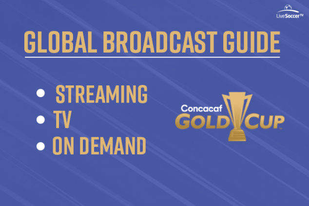 2019 CONCACAF Gold Cup broadcast info