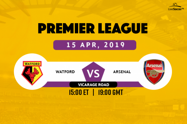 Where to watch Watford vs Arsenal