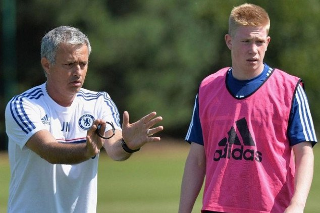 De Bruyne shares details on working with Mou