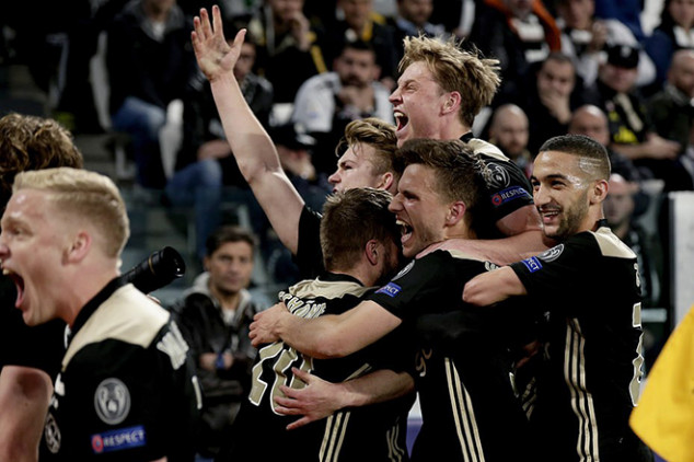 All the feats from Ajax's win over Juve
