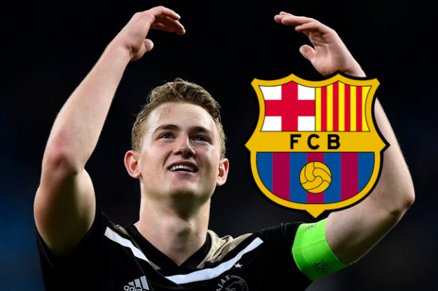 Barca 'on the verge' of signing Matthijs de Ligt