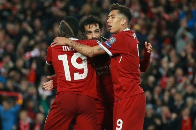 Mane, Firmino and Salah re-write Reds' record-book