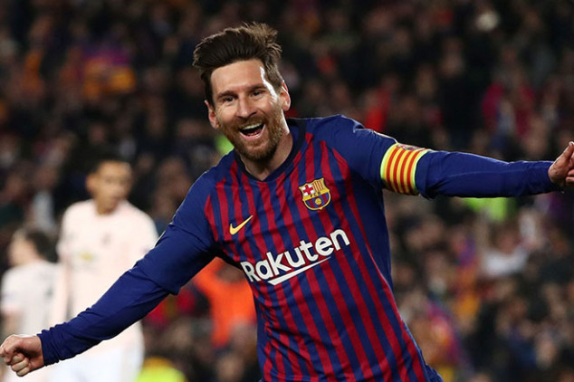 Messi named UCL Player of the Week