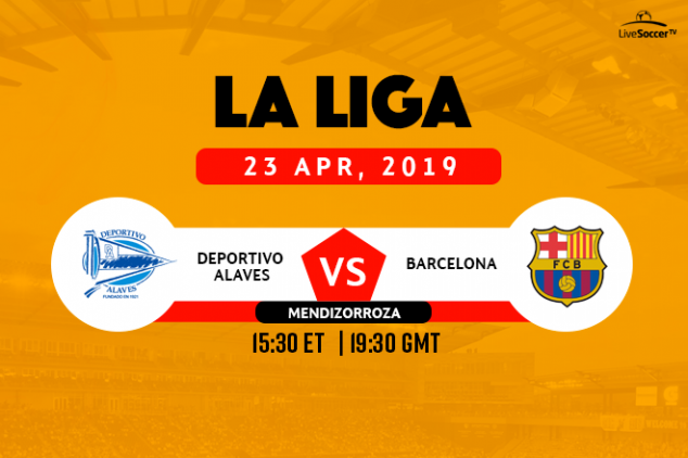 Where to watch Alaves vs Barcelona