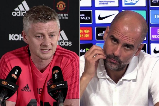 Manchester Derby heats up hours before kick-off