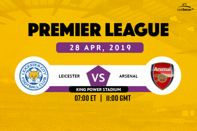 Where to watch Leicester vs Arsenal