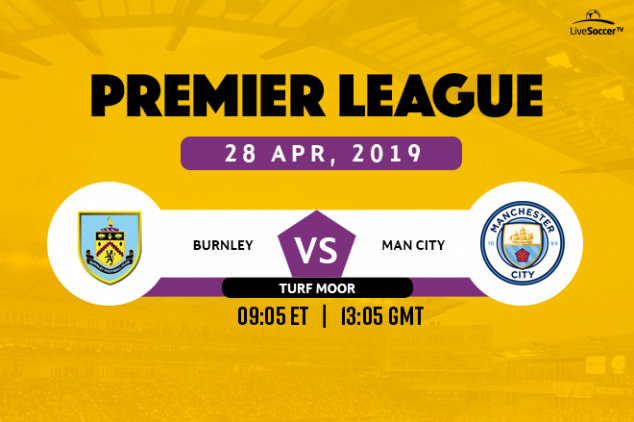 Burnley vs Manchester City broadcast information