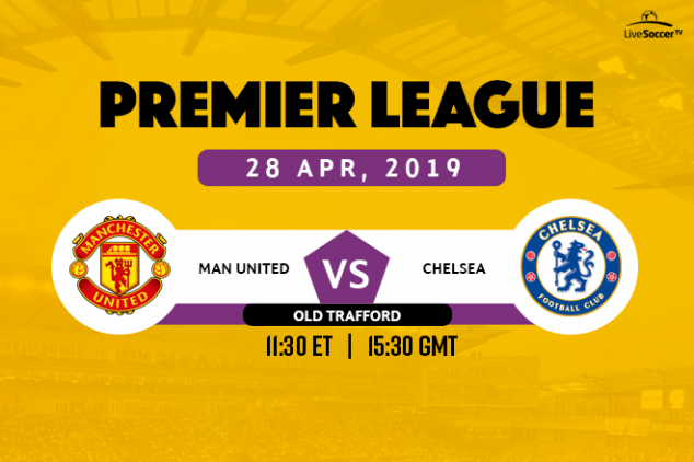 Manchester United vs Chelsea broadcast information