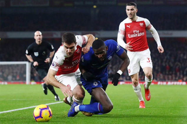 London giant the most fouled EPL side in 2018/19