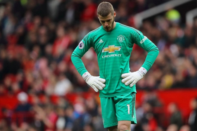 Man United sets sights on De Gea's replacement