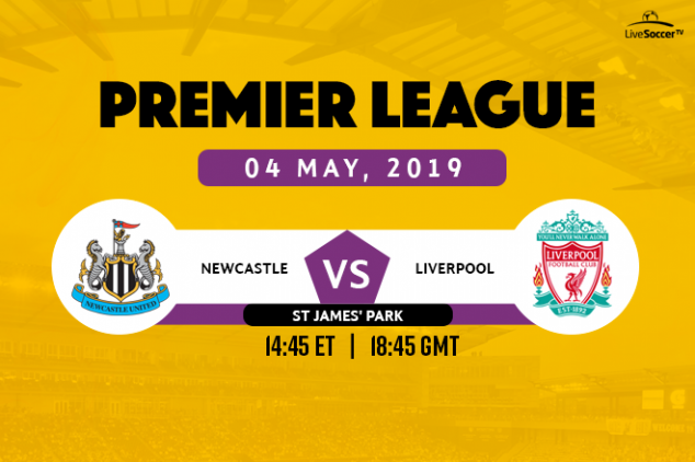 Newcastle vs Liverpool broadcast info
