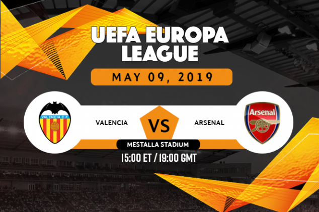 Where to watch Valencia vs Arsenal live