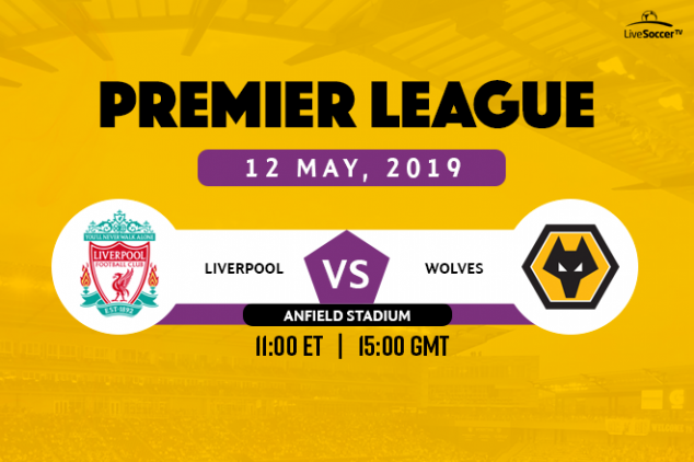 Liverpool vs Wolves broadcast information