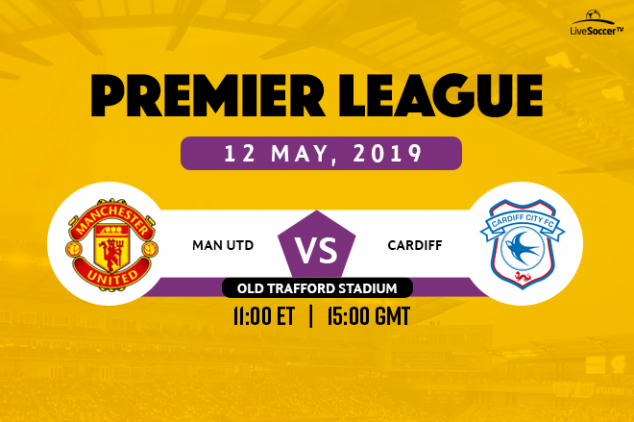 Manchester United vs Cardiff City broadcast info
