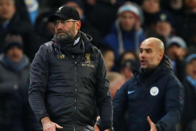 Liverpool, City lineups for final EPL round