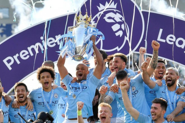 Man City earns £38.4m after EPL title win