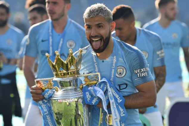 Aguero highlights crucial moment in title race