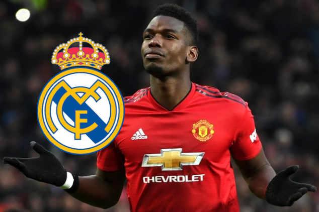 Pogba to take pay-cut to force Real Madrid move