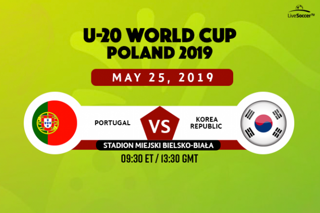 Portugal vs Korea viewing info