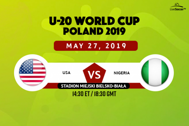 USA U20 vs Nigeria U20 broadcast information