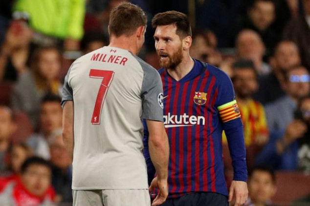 Milner reveals Messi's response to payback tackle