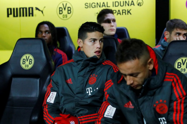 James set to end stint at Bayern this week