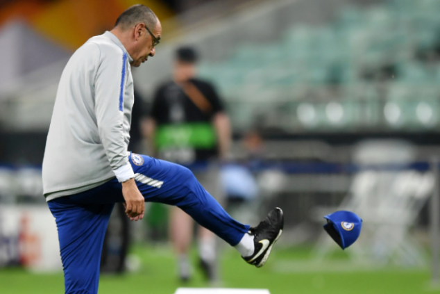 Watch: Furious Sarri storms out of training