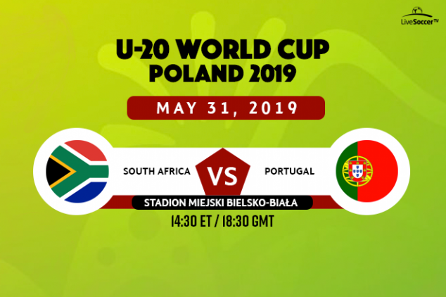 U20 WC :How to watch South Africa vs Portugal