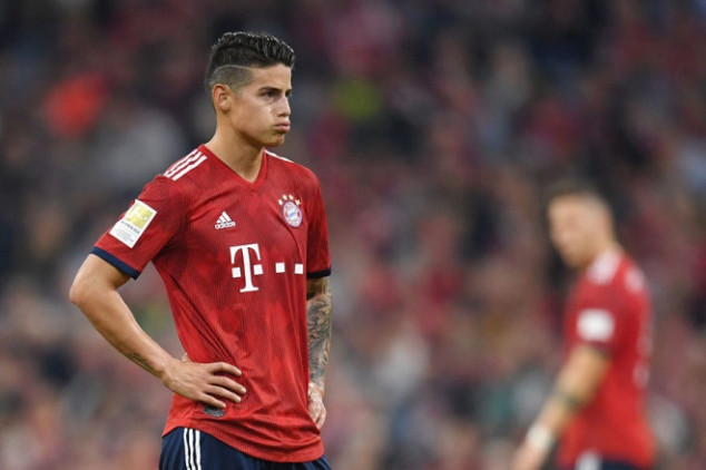 Bayern set to part ways with James