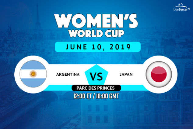 Argentina vs Japan viewing info