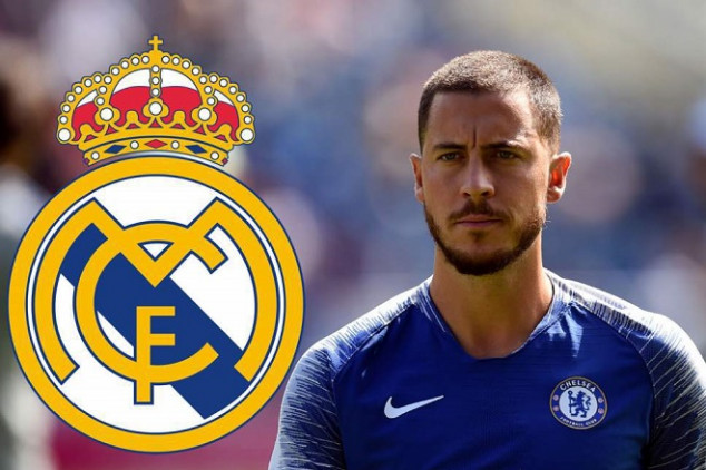Hazard joins Real Madrid on a five-year deal