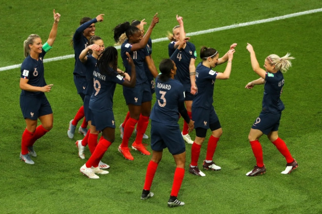 France 4-0 South Korea - Women's World Cup