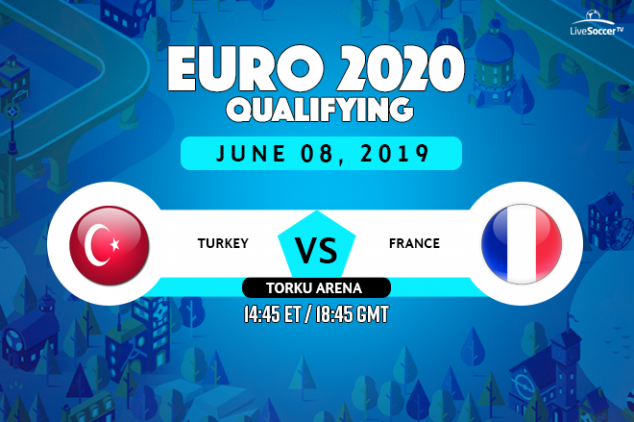 Turkey vs France viewing info