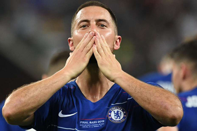 Hazard pens farewell message to Chelsea
