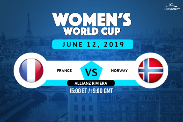 France vs Norway viewing info