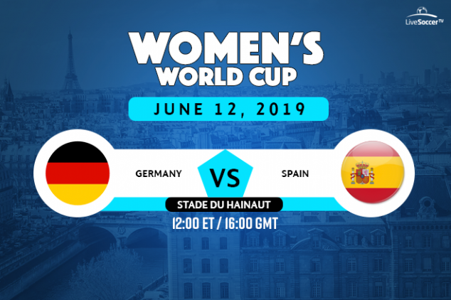 Germany vs Spain viewing info