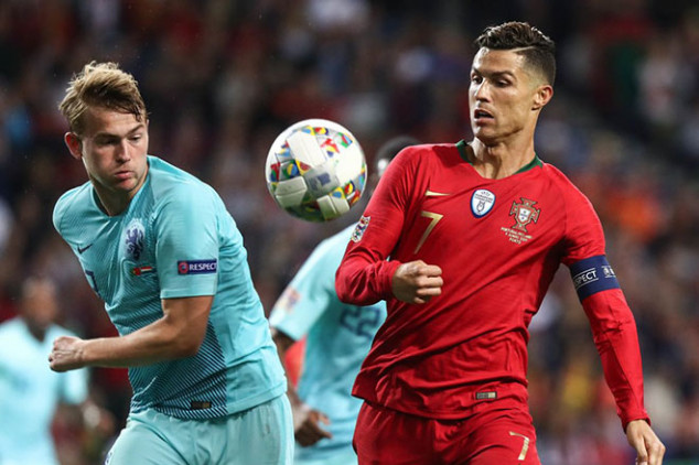 Cristiano asks De Ligt to join Juve
