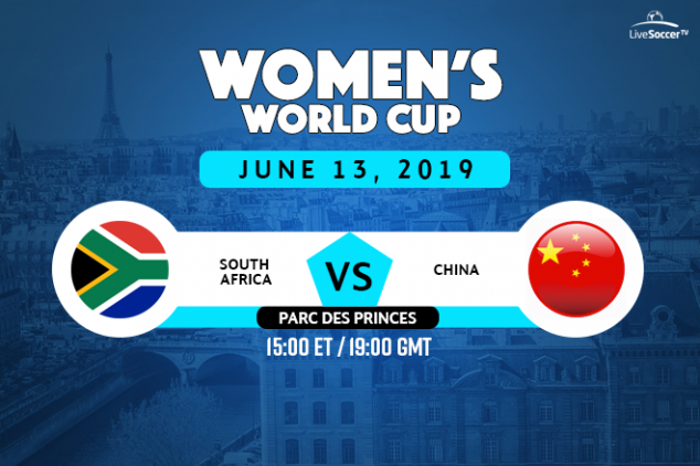 South Africa vs China broadcast information