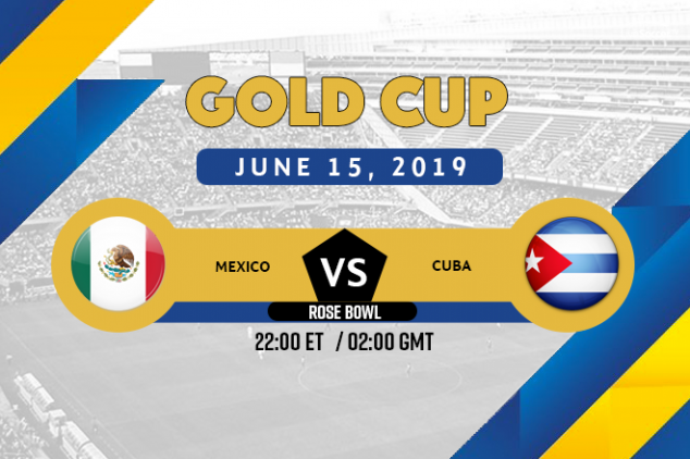 CONCACAF Gold Cup: Mexico vs Cuba broadcast info