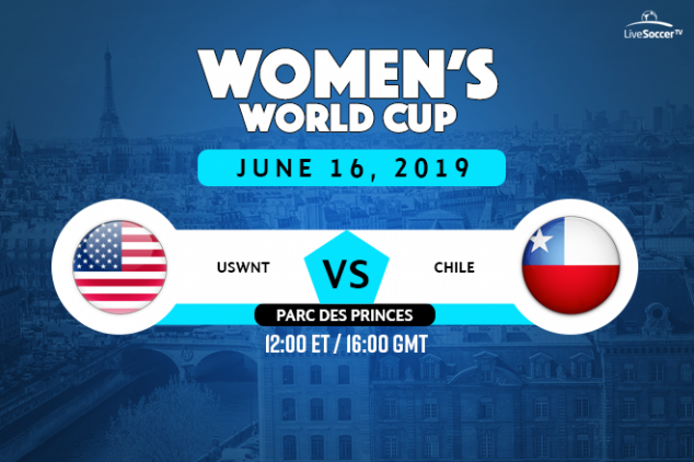 USA vs Chile broadcast information