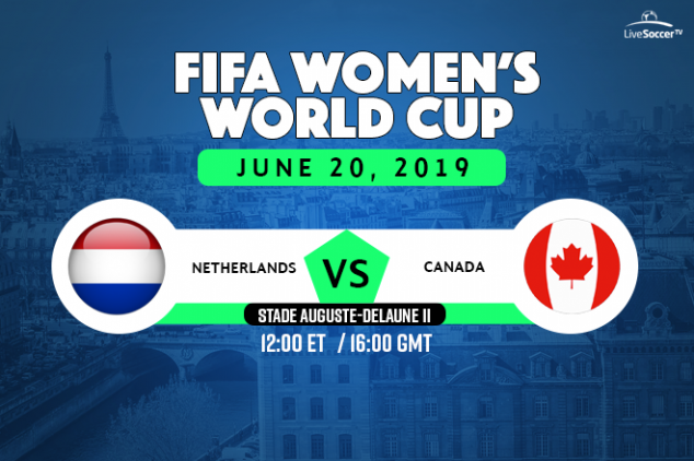 Netherlands vs Canada viewing info