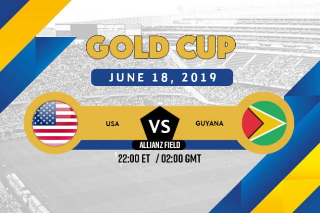 USA vs Guyana broadcast information